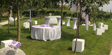 Wedding restaurant in Bardolino